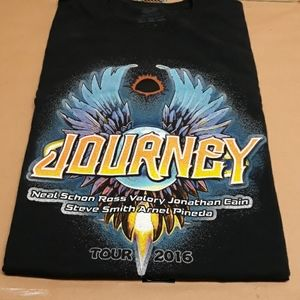 Journey Fruit of the Loom 2016 Tour Tshirt 2XL